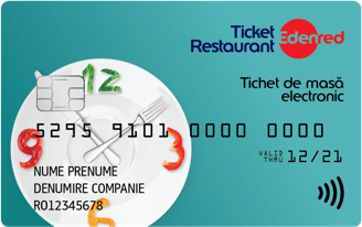 Ticket restaurant Card